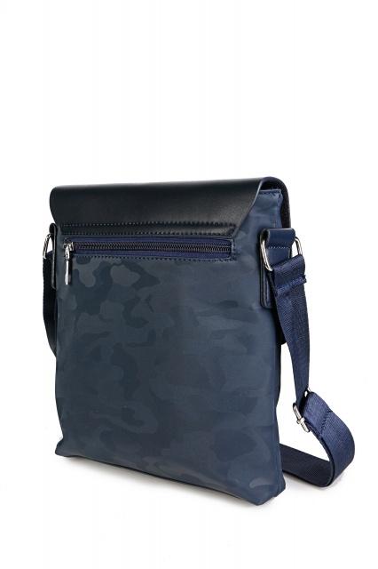 f368ac09e45 Meeste kott sinise värv. Pealsematerjal: kunstnahk + tekstiil. Sisevooder:  tekstiil.