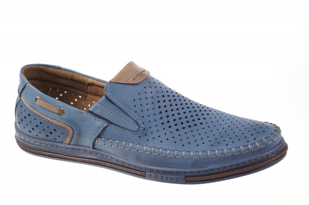 a506a4dc80c Meeste kingad sinise värv. Perforatsioon või võrk. Madal täistald.  Pealsematerjal: vahatatud nahk. Sisevooder: naturaalne nahk + tekstiil.